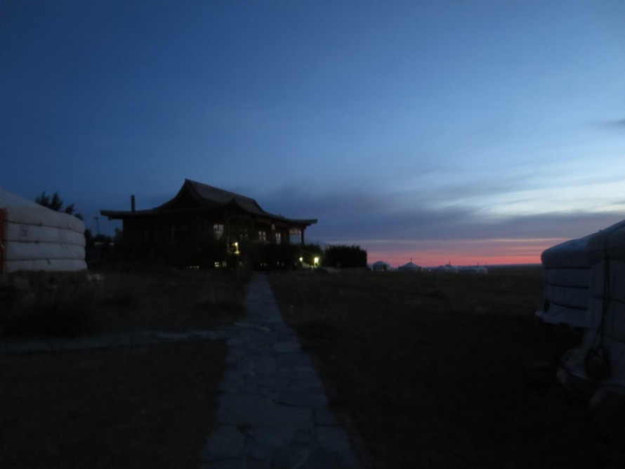 Daybreak at 3 Camel Lodge