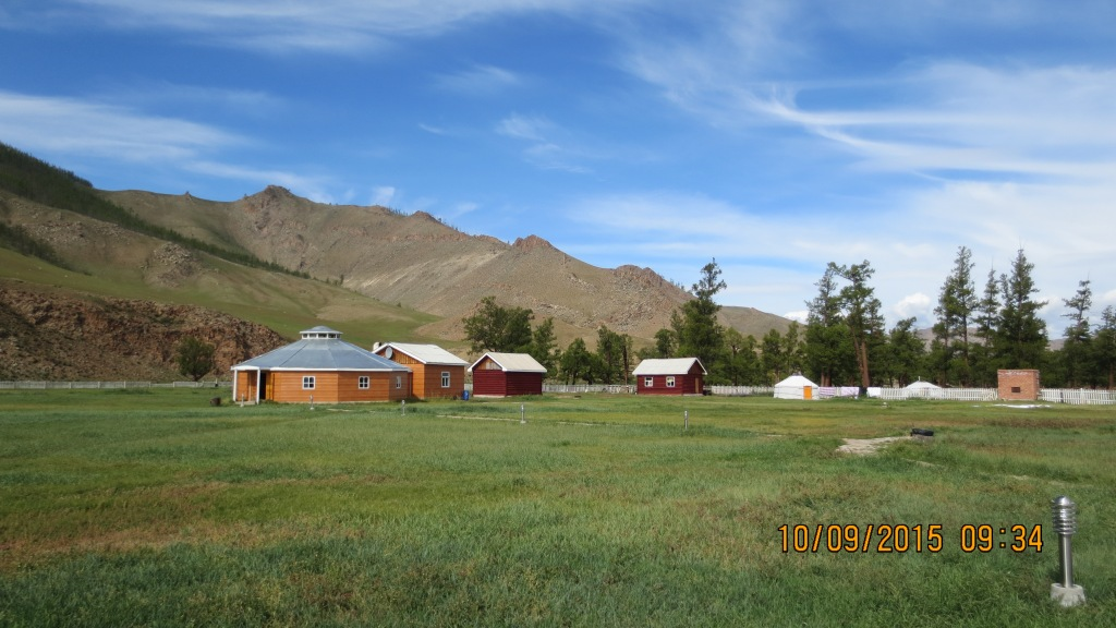 The beautiful Jargal Jiggur camp at Jargalant