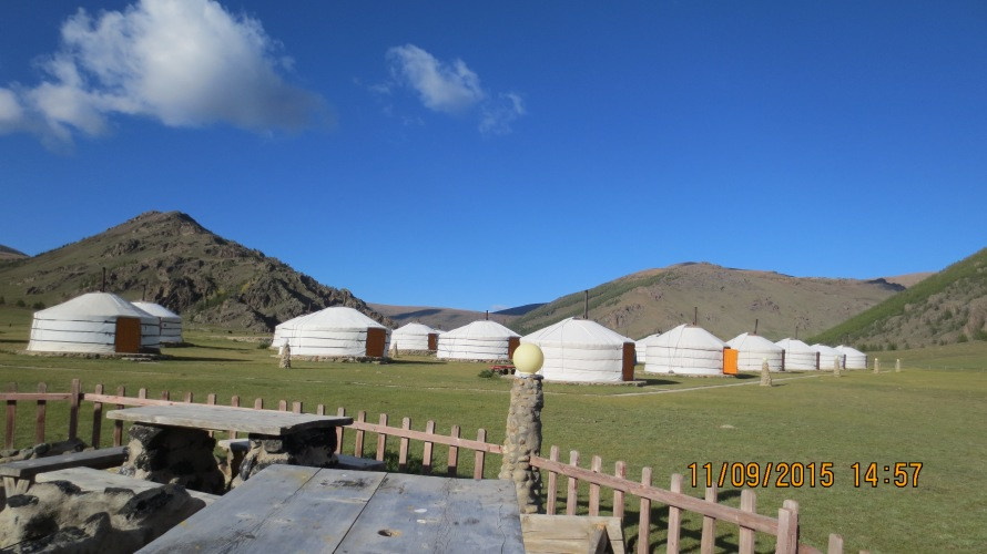 The beautiful Khorgo Camp