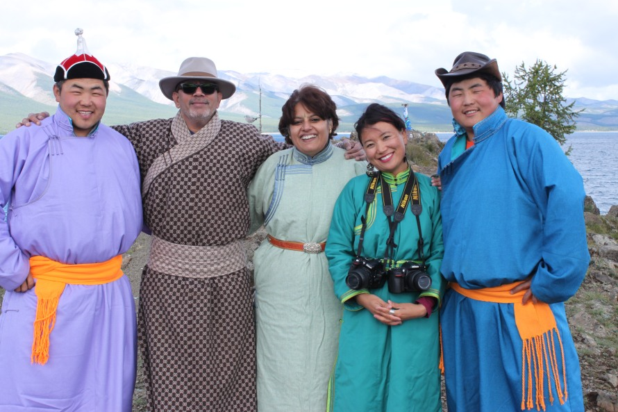 Our new Mongolian family