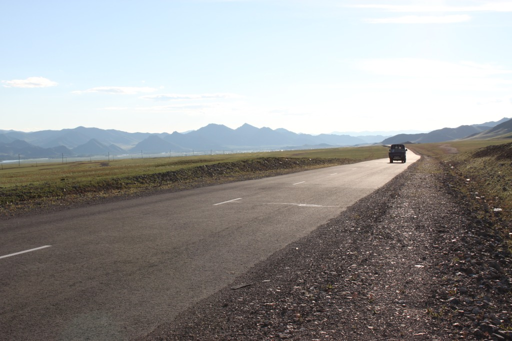 Stunning views on the way to Khuvsgul