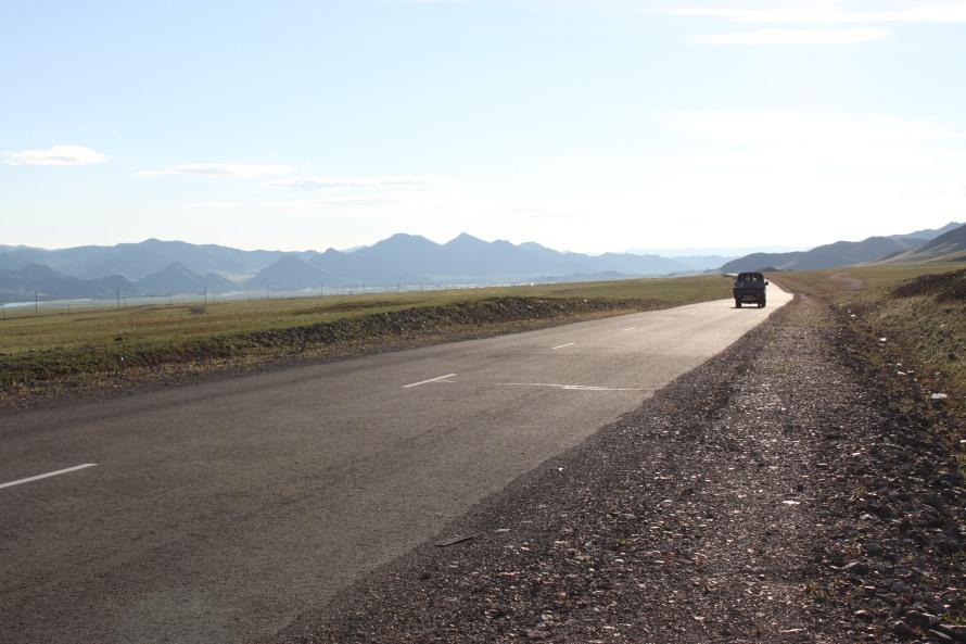 Stunning views on the way to Khuvsgul