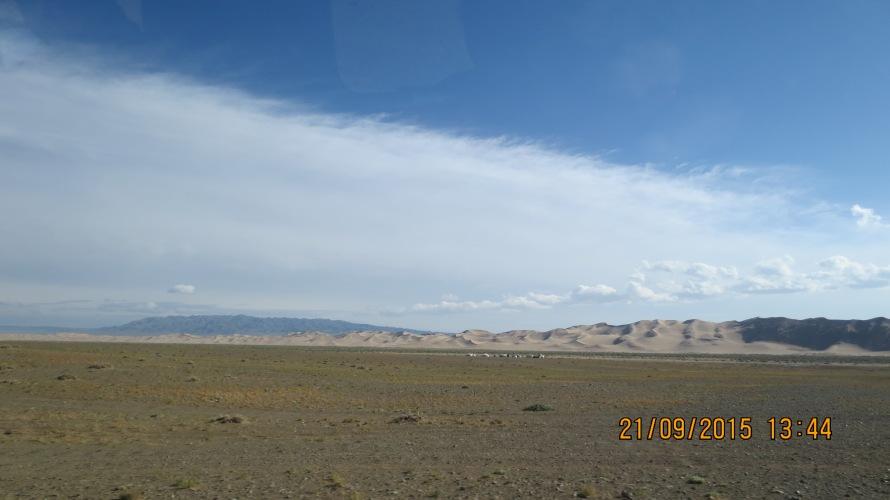 The Singing sand dunes ..