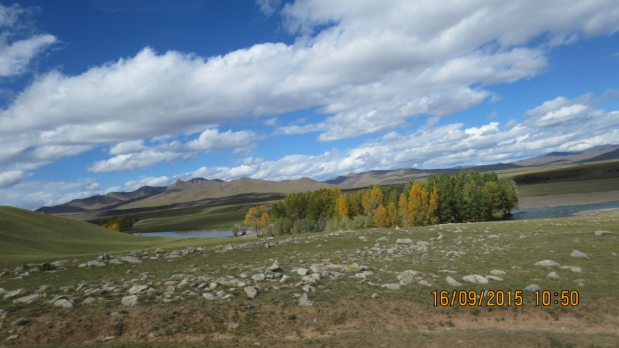 View near the Orkhon Valley camp