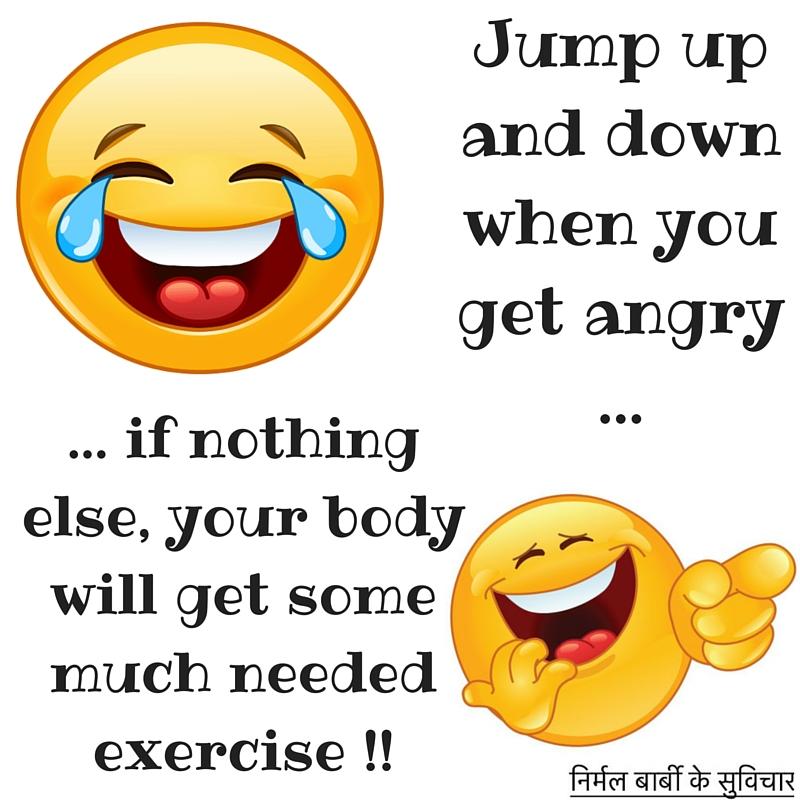 laugh anger