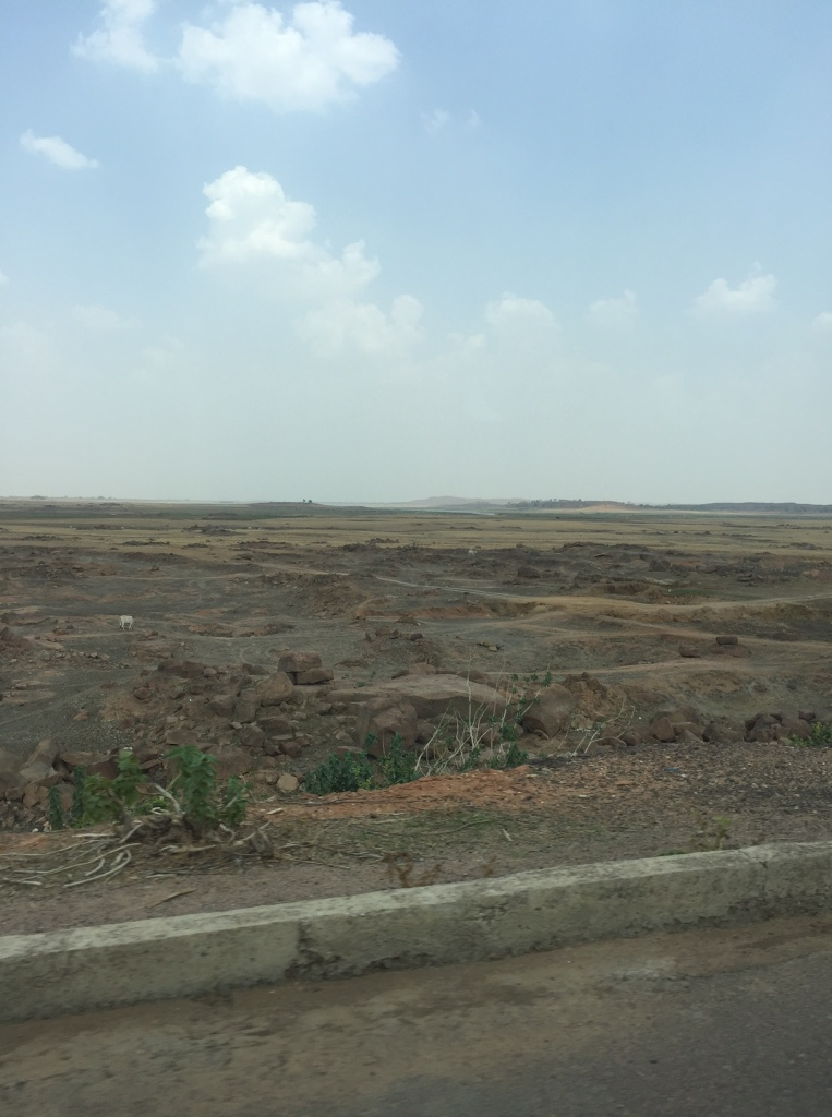 dry lake outside babina