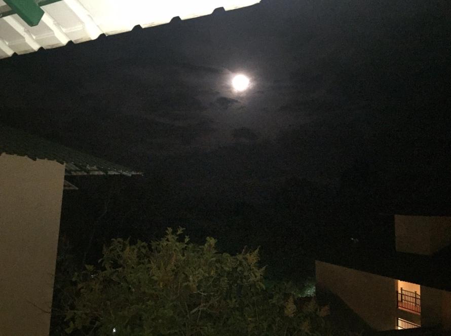 Enchanting full moon on June 20th...