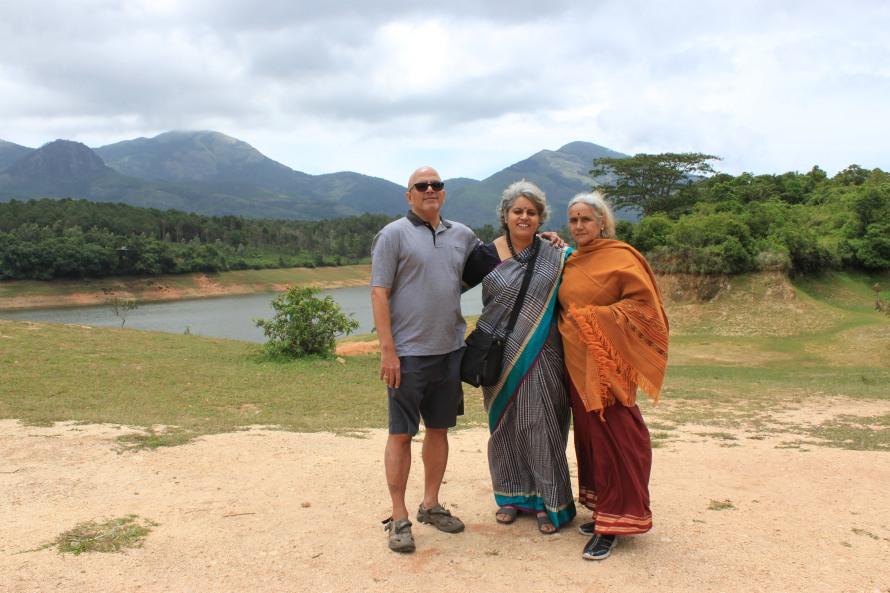 The Anairangal dam. Beautiful water body.
