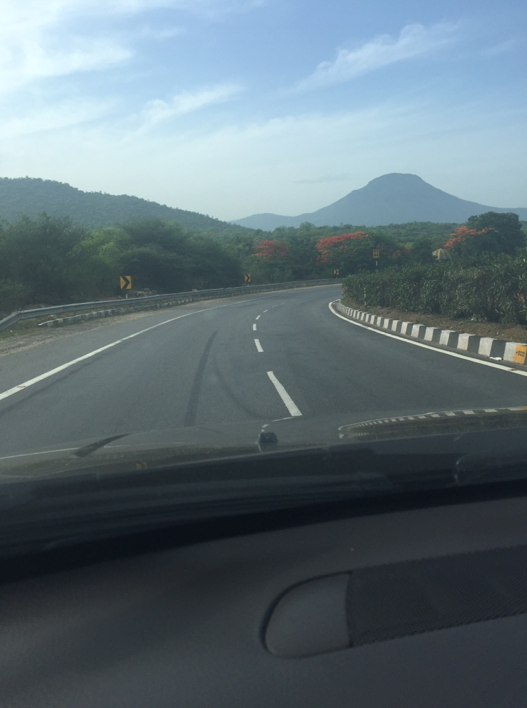 Beautiful road near Salem