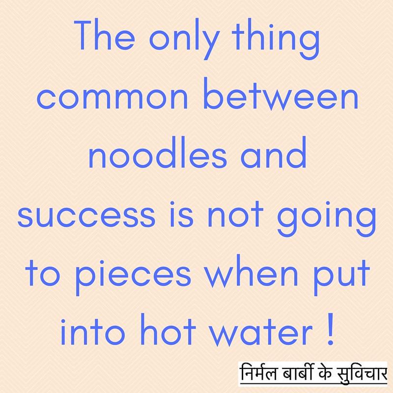 noodles success