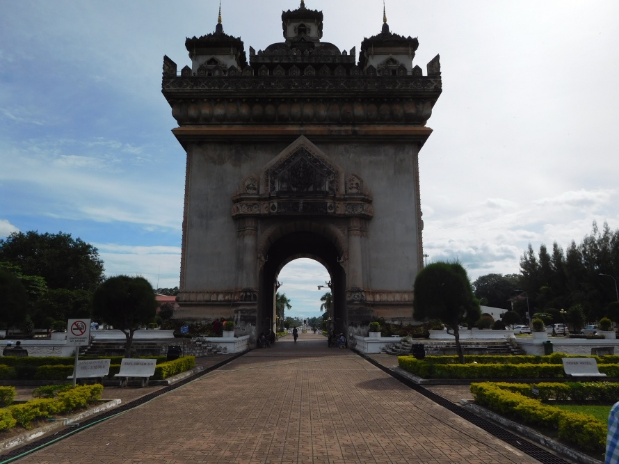 The Patuxai or Victory memorial
