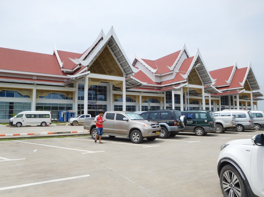 The new airport at Luang Prabang