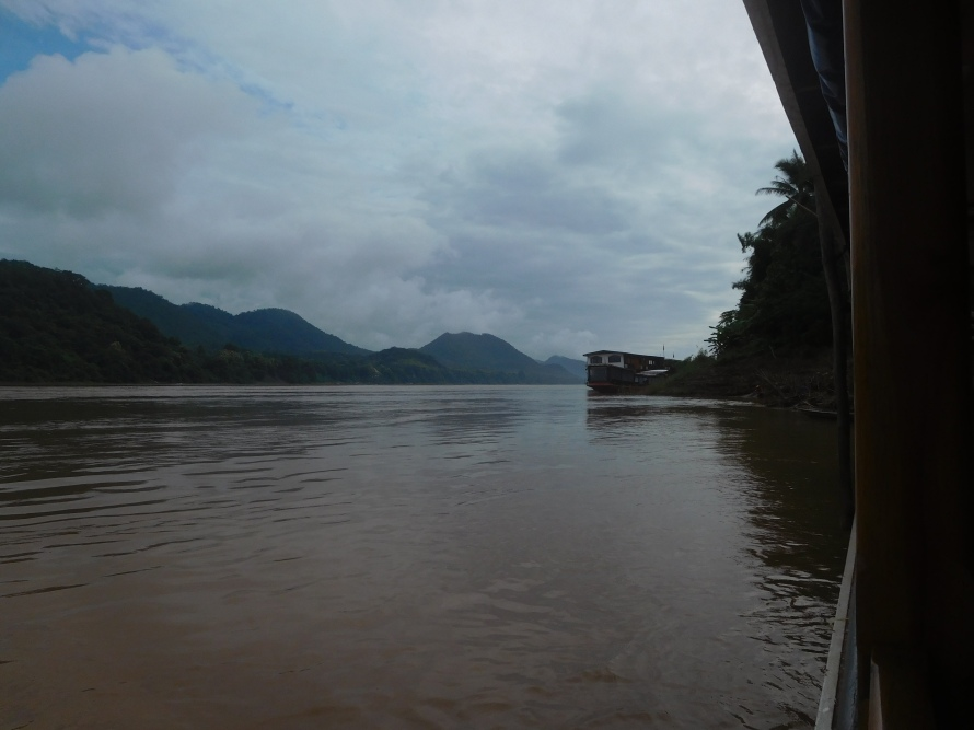 The beautiful Mekong river in the morning.