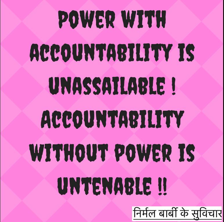 power-accountability